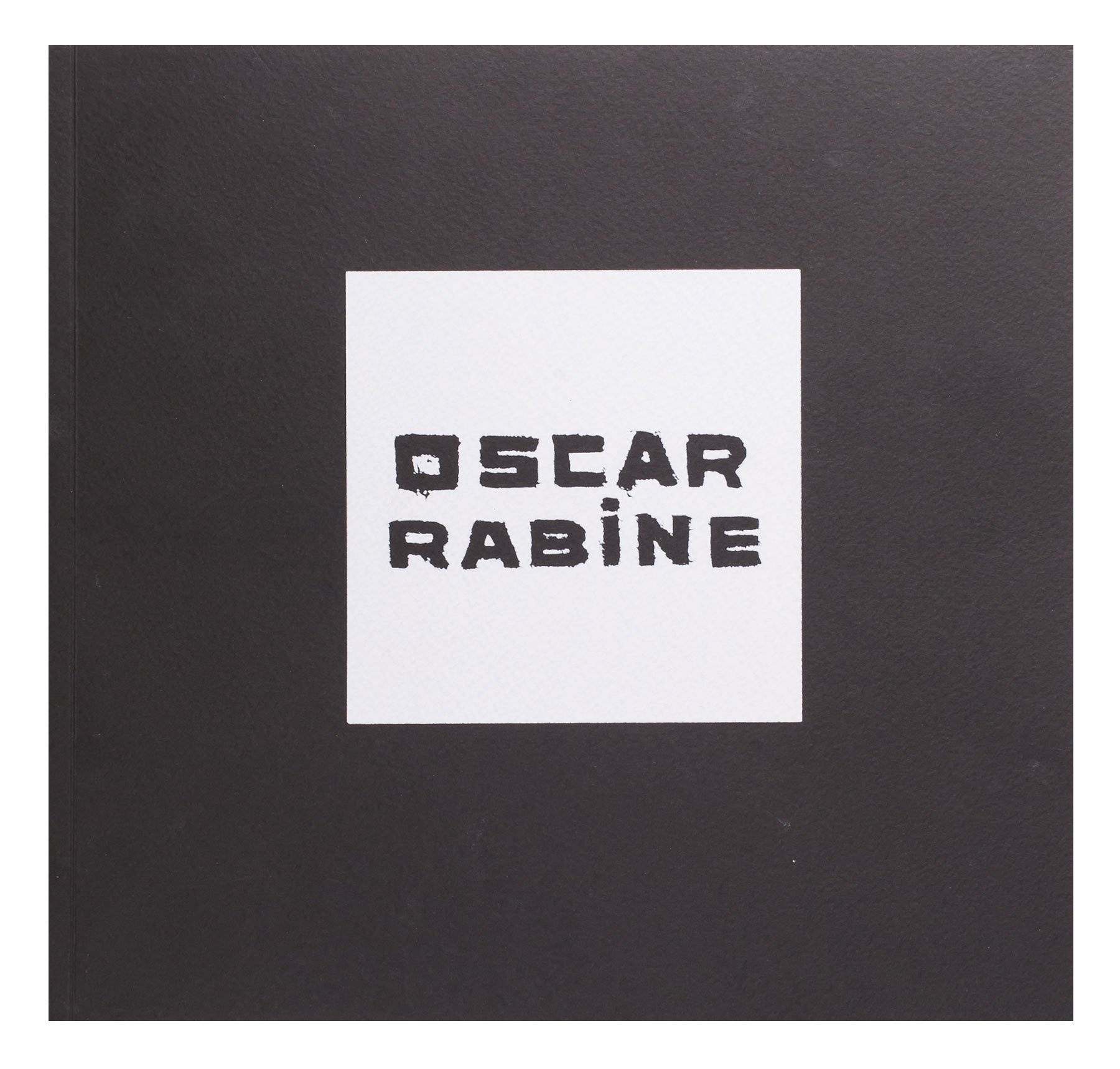 Exhibition catalog «Oscar Rabin. I was presented a Paris»
