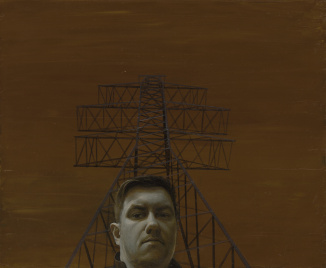 Self-portrait with Power Lines
