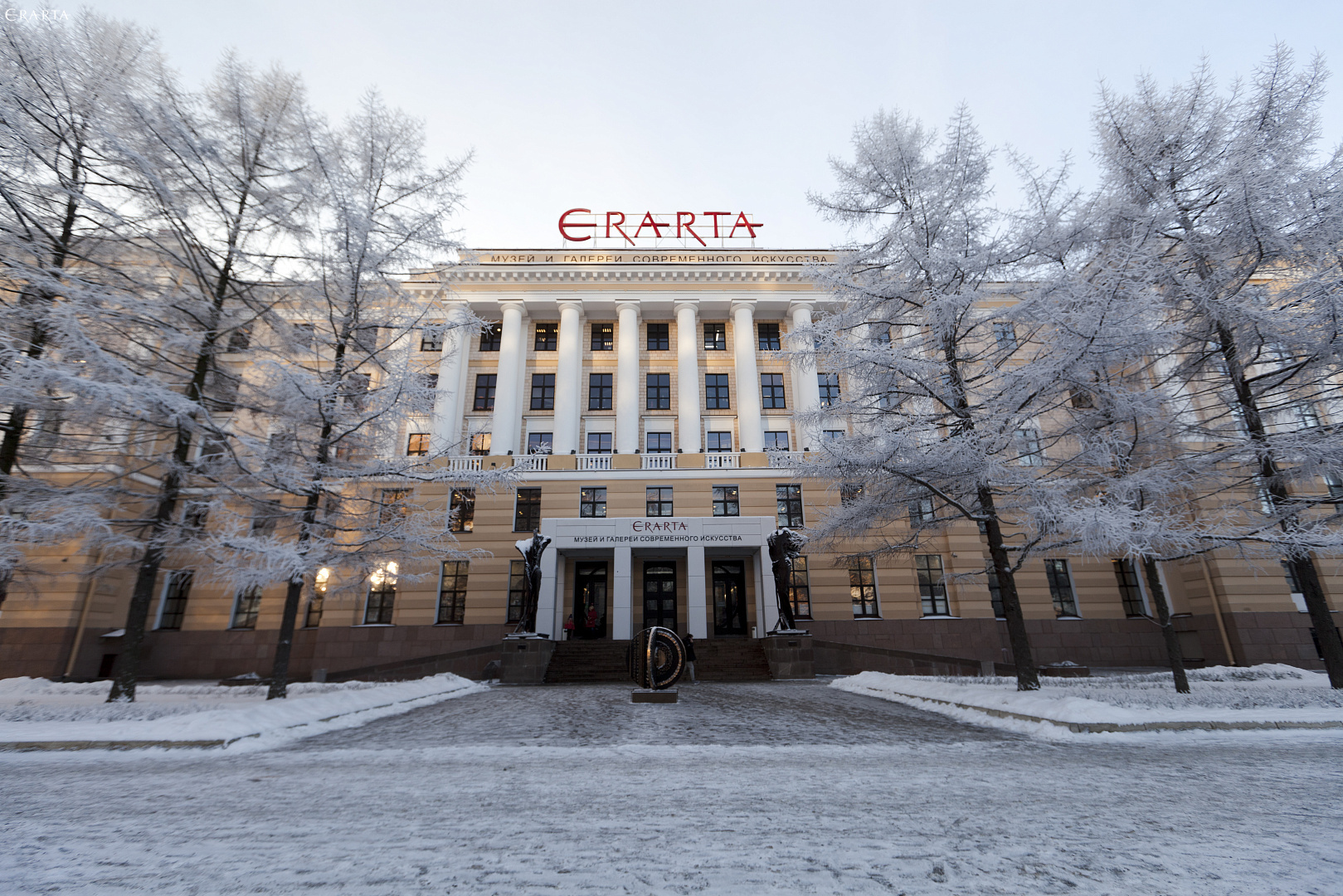 Erarta Museum Opening Hours During the Winter Holidays