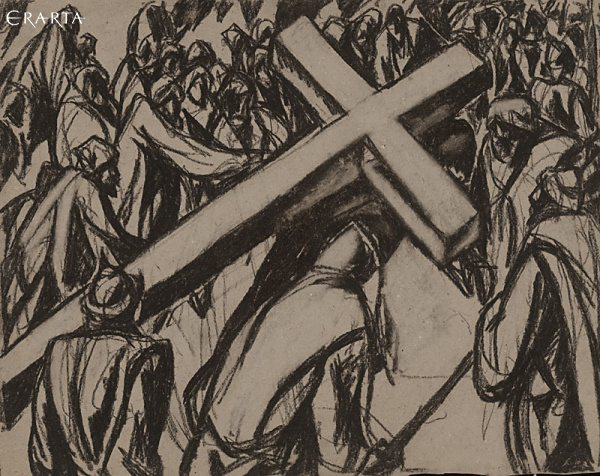 No. 1 <<The Bible>>Carrying the Cross, Peter Gorban