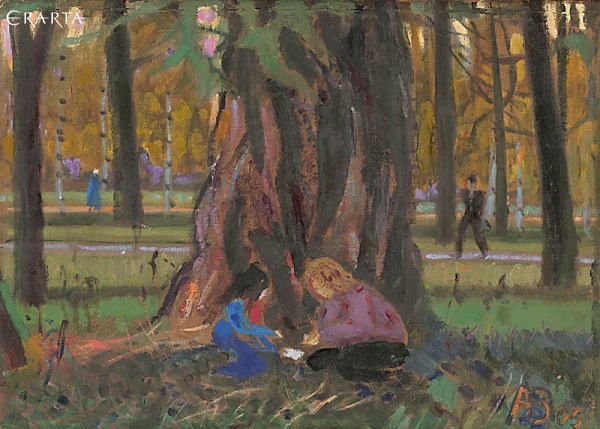 Game under the Larch, Zaslavsky Anatoly