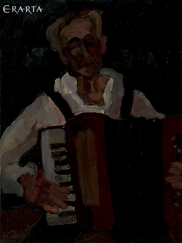Accordion Player, Andrey Neganov