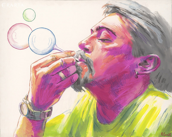 Soap Bubbles, Yury Sychev