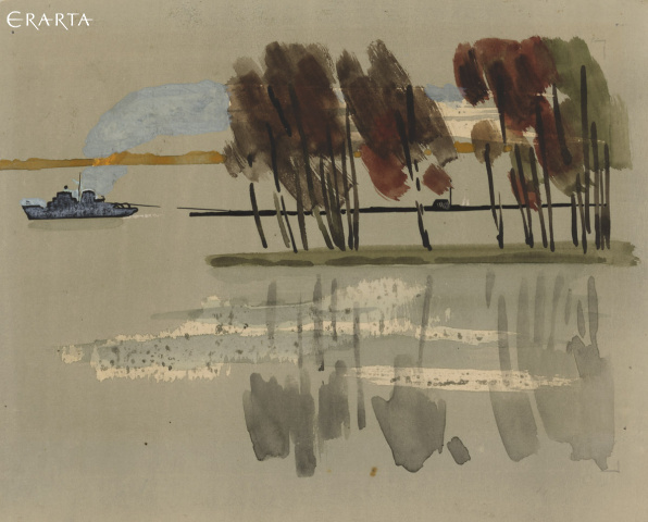Down The Volga–Baltic Waterway. At the Vytegra River, Savely Lapitsky