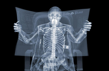 Nick Veasey. X-Ray Men