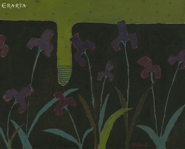 Paths of Khakassia. Irises, Konstantin Pyanov