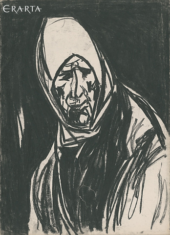 No. 2 <<The Red Bible>>Untitled (Old Woman), Peter Gorban