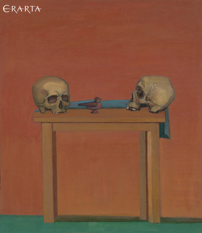 Still Life with Skulls, Ivanov Mikhail