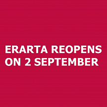 Erarta Reopens on 2 September
