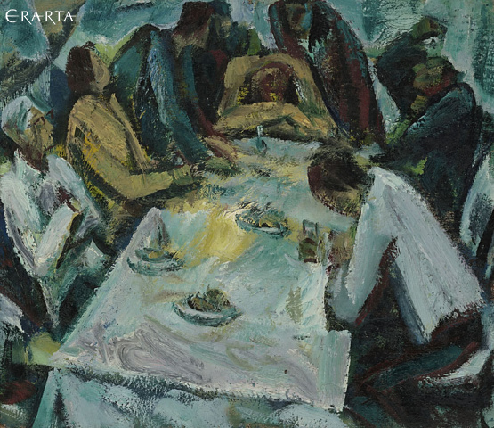 At the Table, Peter Gorban